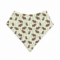 Snow Bear Bandana Bib
