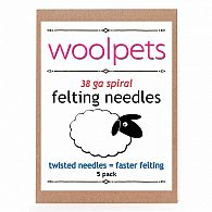 Felting Needles Spiral 5 Pack