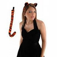 Tiger Ears and Tail Set