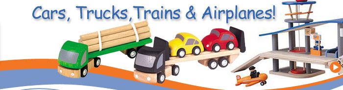 we have tons of cars and trains